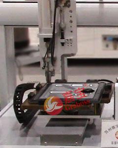 桌面型四轴双Y锁苹果配件螺丝机锁付中图