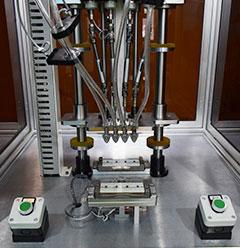 四轴锁螺丝机操作图
