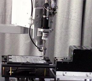 机器人自动锁螺丝机锁付图