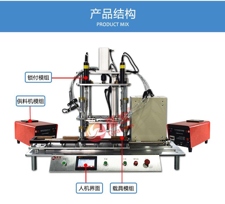 8轴转盘式锁螺丝机功能图